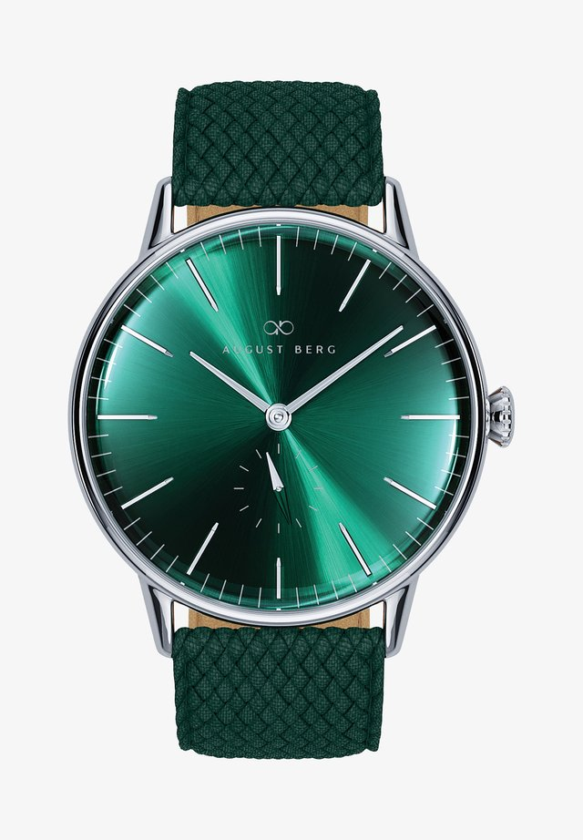 UHR SERENITY GREENHILL EYE DARK GREEN PERLON 40MM - Orologio -  green
