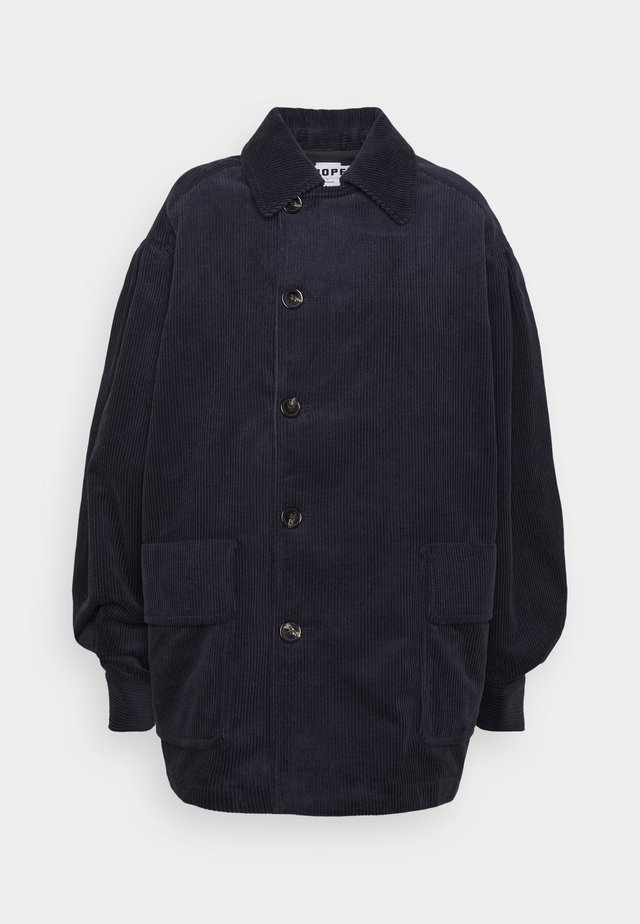 BON JACKET - Cappotto corto - navy