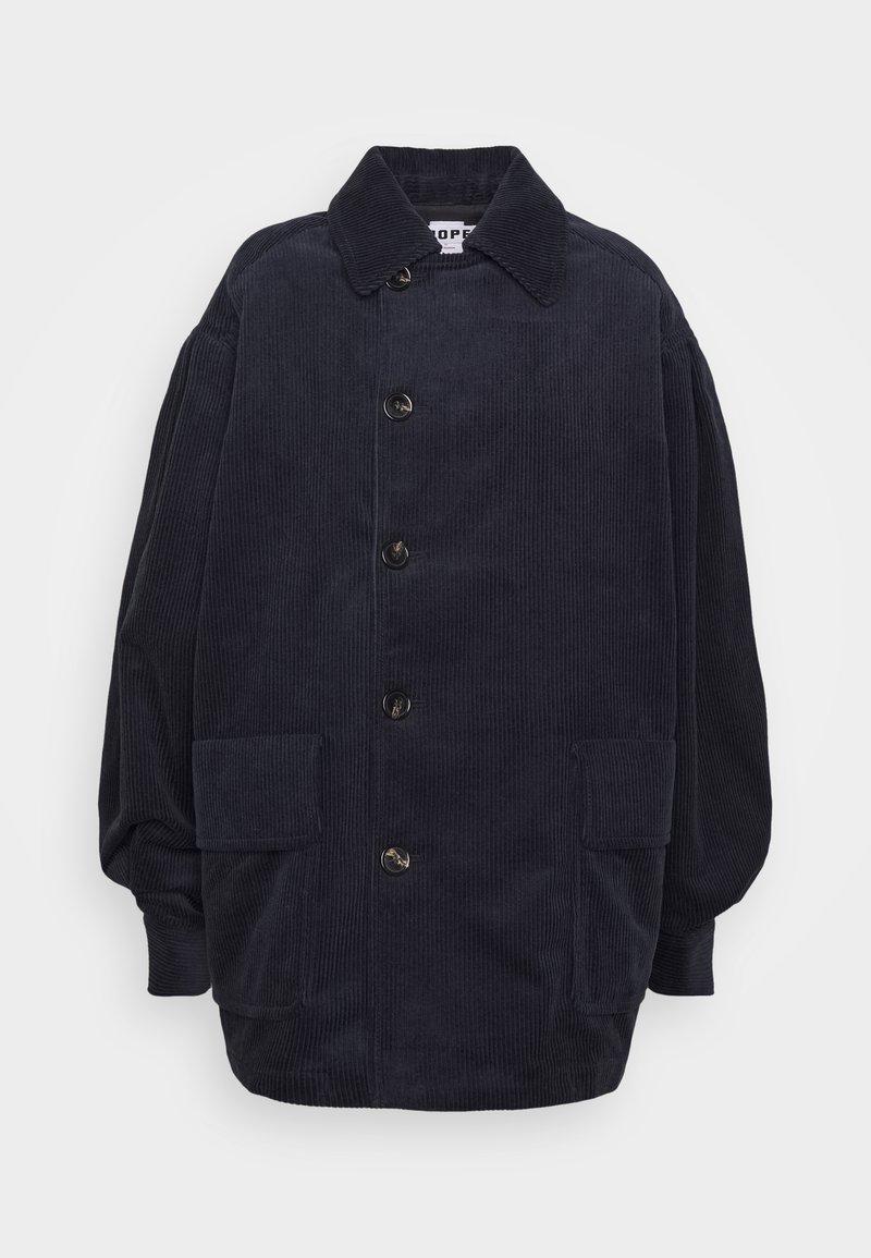 Hope - BON JACKET - Short coat - navy