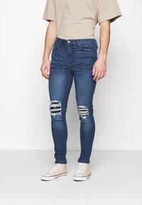 274 - PATCH - Skinny džíny - blue - 0