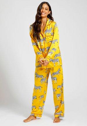 SET - Pyjamas - mustard