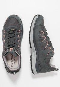 Lowa - INNOX EVO GTX - Hiking shoes - asphalt/salmon - 1