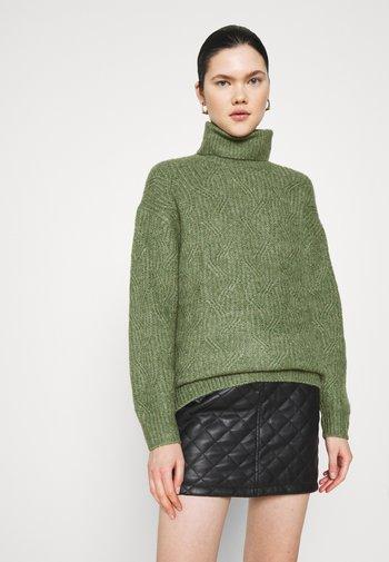 PARISA - Jumper - khaki green