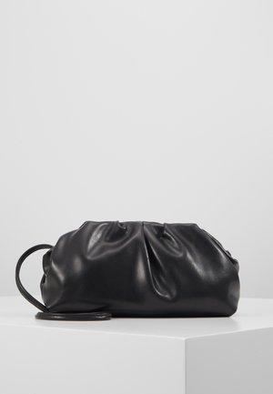 POUCH BAG WITH CROSS BODY STRAP - Across body bag - black