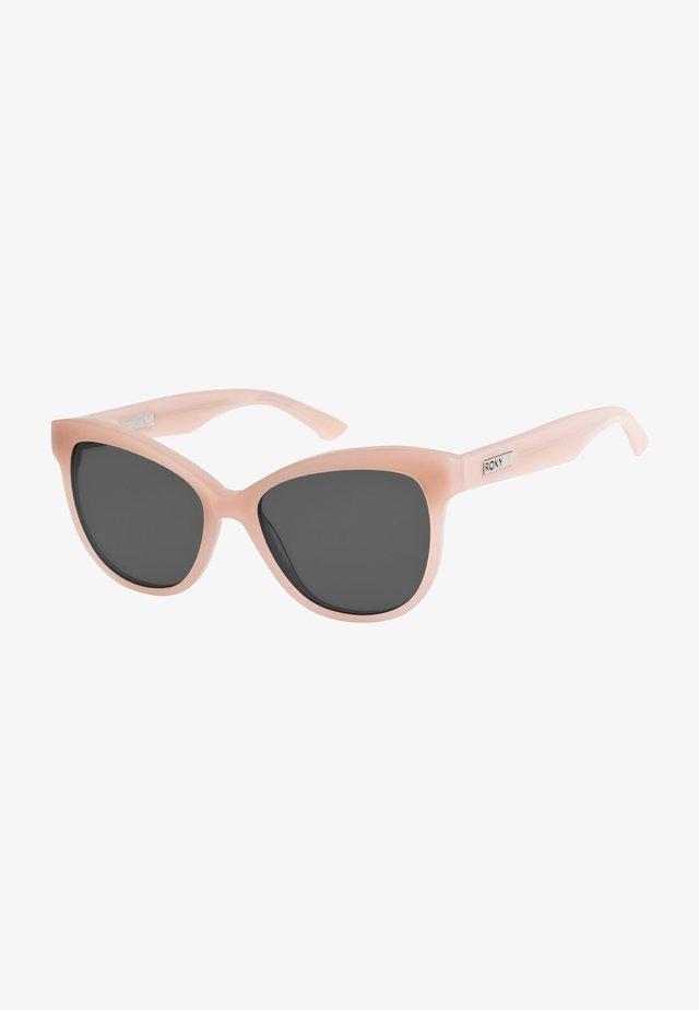Sunglasses - shiny nude pink/grey