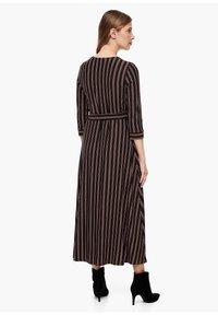 s.Oliver BLACK LABEL - Maxi dress - brown stripes - 2