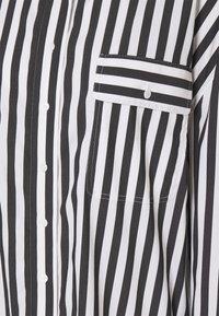 Steffen Schraut - EVE LONG BLOUSE - Button-down blouse - black - 2