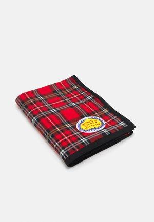 CHECK BLANKET UNISEX - Baby blanket - red