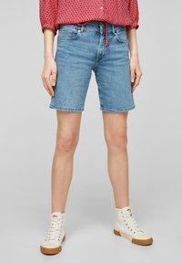 s.Oliver - Short en jean - light blue - 0
