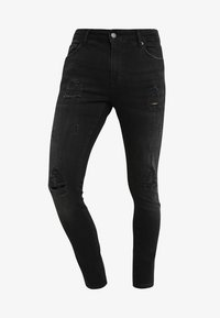 YOURTURN - Jeans Skinny Fit - black denim - 4