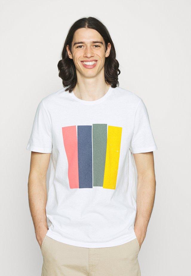 MAHE MAN - T-shirt print - white