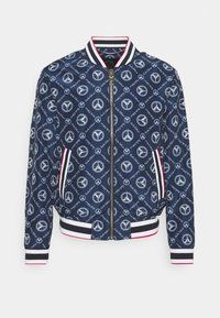 Carlo Colucci - SUMMER BLOUSON - Bomber Jacket - navy/white/red - 0