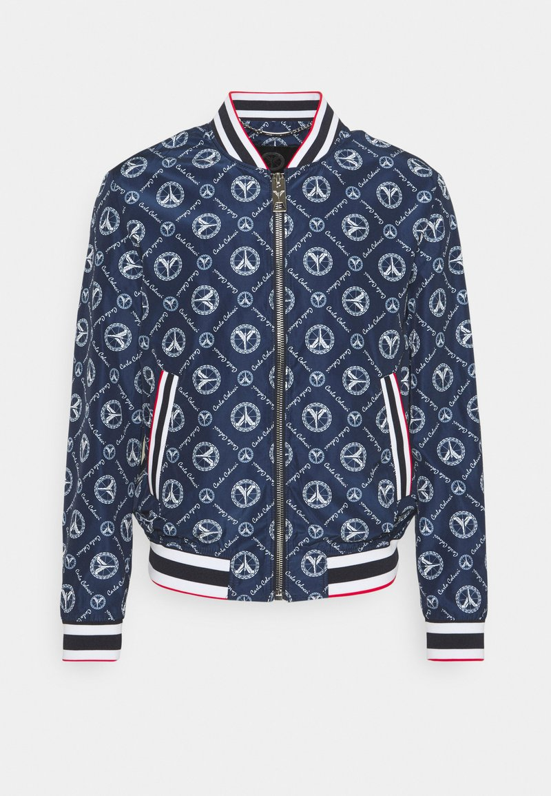 Carlo Colucci - SUMMER BLOUSON - Bomber Jacket - navy/white/red