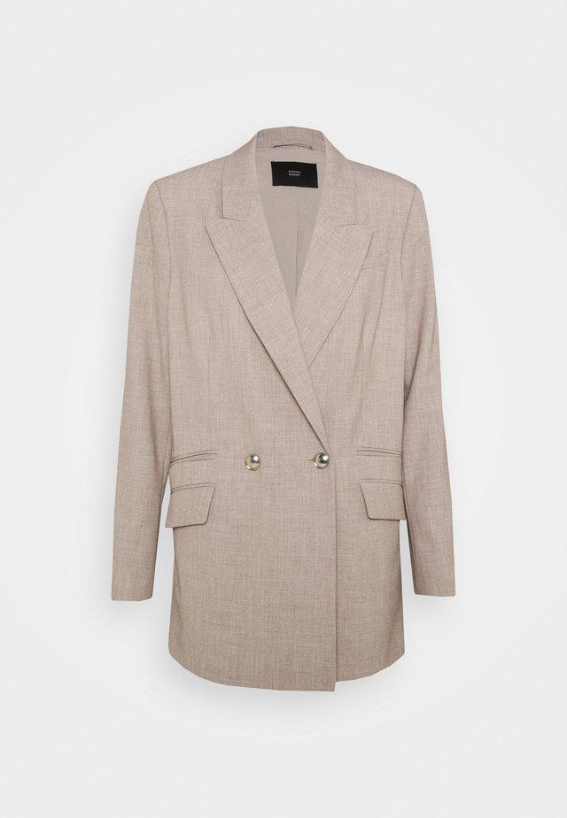 TOKYO FASHIONISTA - Halflange jas - beige melange