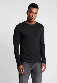 Pier One - 2 PACK - Longsleeve - black