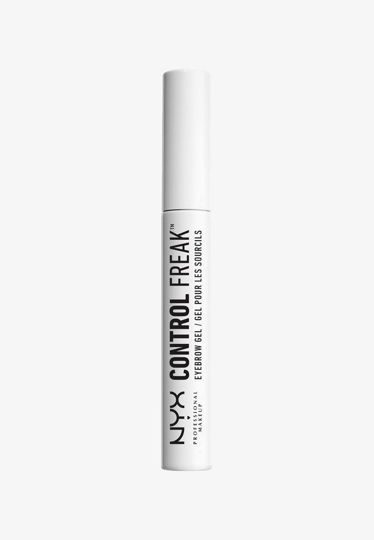 Nyx Professional Makeup - AUGENBRAUENSTIFT CONTROL FREAK EYEBROW GEL - Gel sopracciglia - 1 clear