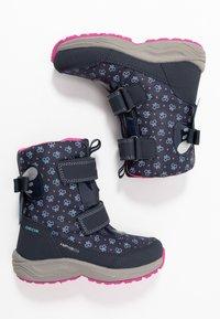 Geox - KURAY GIRL  - Zimní obuv - navy - 0