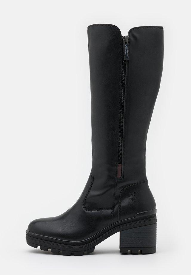 BOOTS - Platform boots - black antic