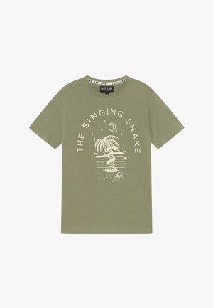 KIDS CLARCK - T-shirts print - olive