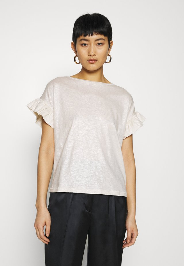 DAY PERMANENT - Basic T-shirt - ivory