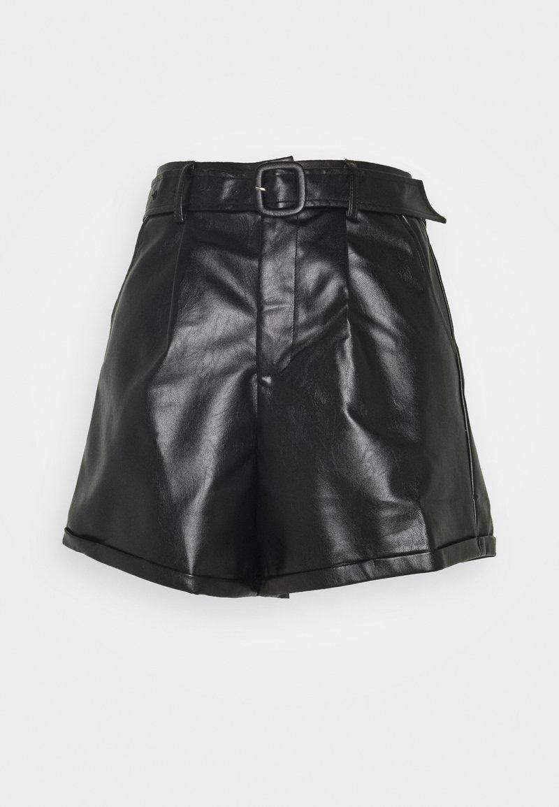 Fashion Union - NICKLE - Shorts - black