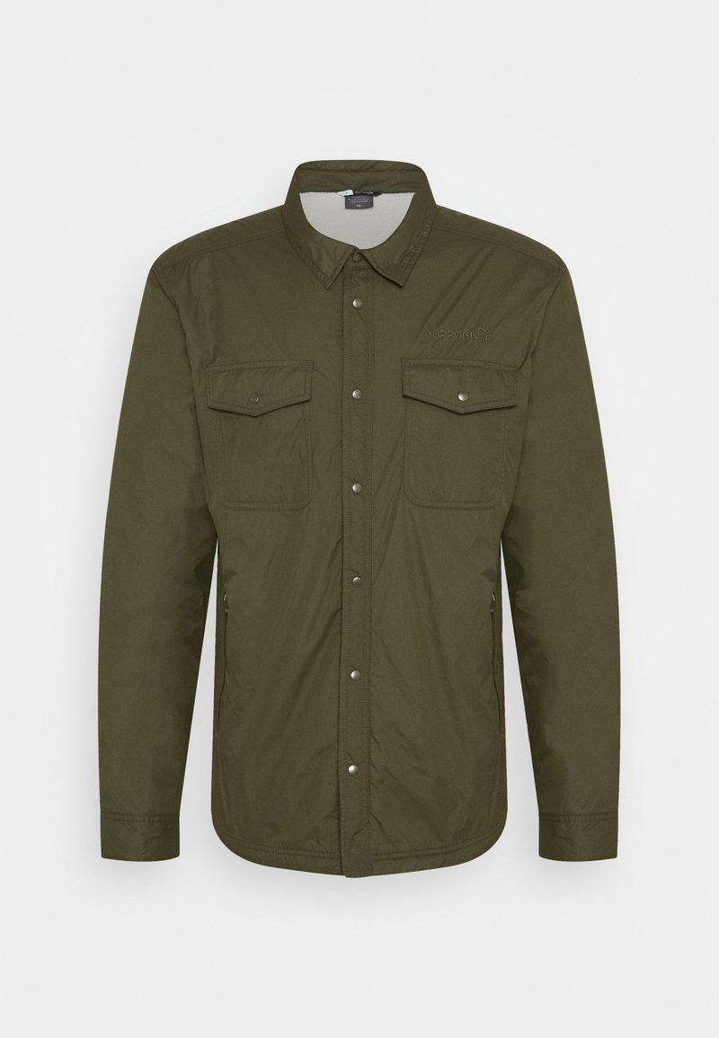 Norrøna - WORKWEAR PILE - Outdoorová bunda - khaki