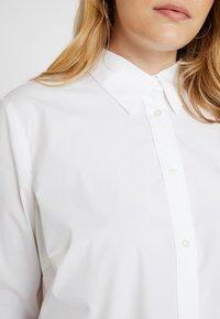 Lauren Ralph Lauren Woman - JAMELKO LONG SLEEVE SHIRT - Chemisier - white - 5
