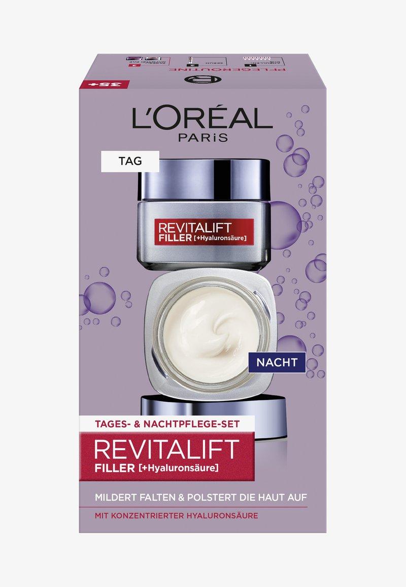 L'Oréal Paris - REVITALIFT FILLER TAG UND NACHT GESICHTSPFLEGE-SET - Skincare set - -