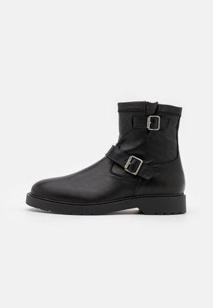 SLHTIM BOOT - Cowboy-/Bikerlaarsjes - black