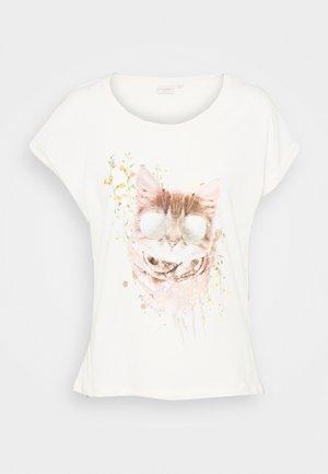 T-shirt imprimé - eggnog cat