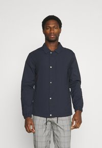 Selected Homme - SLHSUSTAINABLE ICONICS COACH - Summer jacket - sky captain - 0