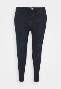 River Island Plus - Jeans Skinny Fit - dark auth - 4