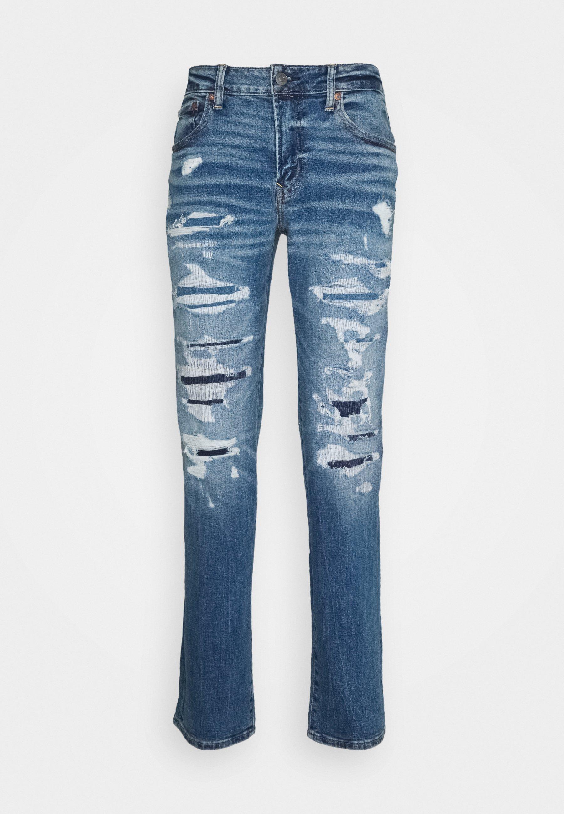Men MEDIUM MENDED SLIM - Slim fit jeans