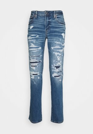 MEDIUM MENDED SLIM - Jeans slim fit - torn up
