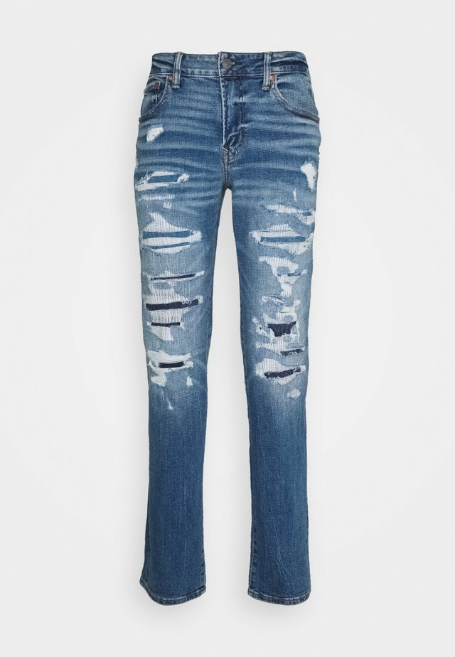 MEDIUM MENDED SLIM - Slim fit jeans - torn up