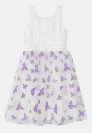 GIRLS DRESS - Koktejlové šaty/ šaty na párty - white