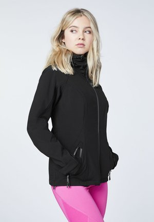 Outdoor jacket - deep black
