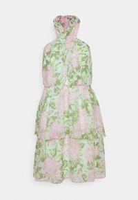 Gina Tricot - EXCLUSIVE MALVA HALTERNECK DRESS - Koktejlové šaty/ šaty na párty - pink - 4