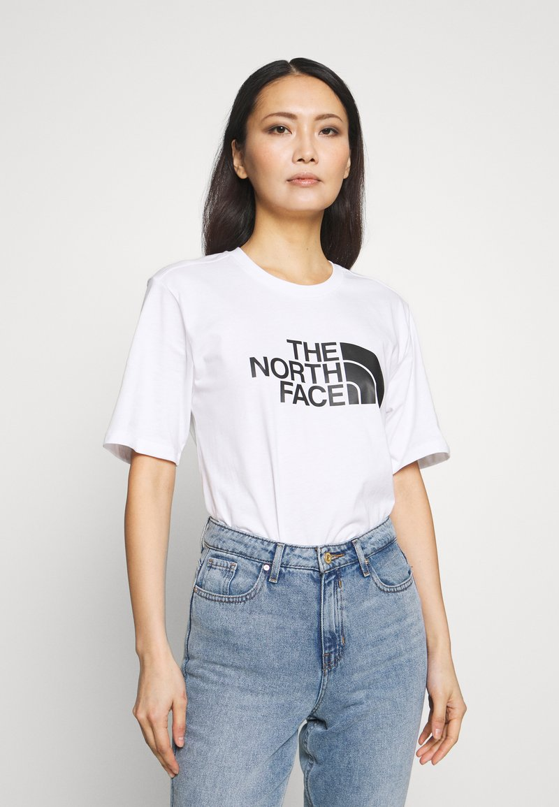 The North Face - EASY TEE - T-shirts med print - white