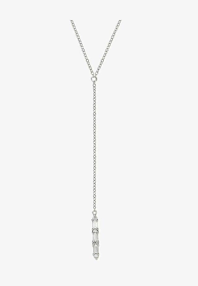 BAGUETTE - Halsband - silber