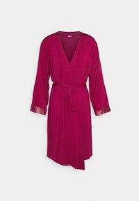 KIMONO - Dressing gown - bordeaux