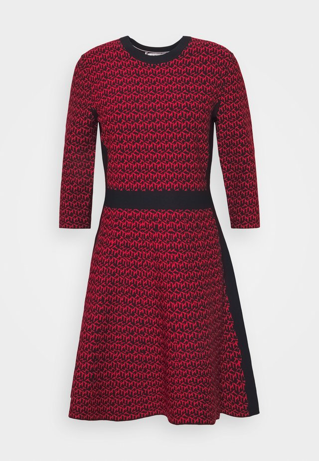 Jumper dress - primary red
