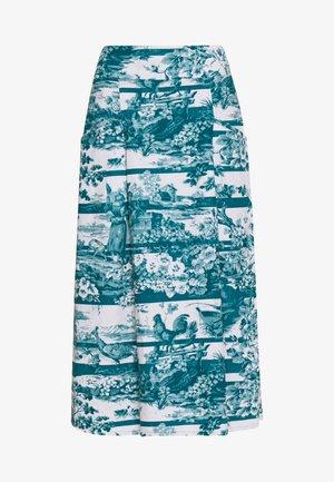 TOILE DE JOUY SKIRT - A-line skjørt - lagoon blue