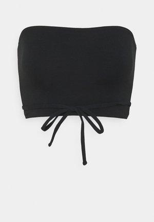 STRAPPY WRAP TUBE - Top - black