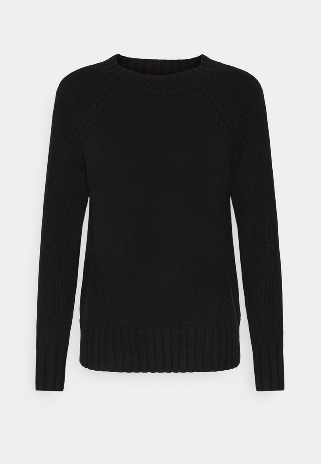 ONLSANDY  - Strickpullover - black