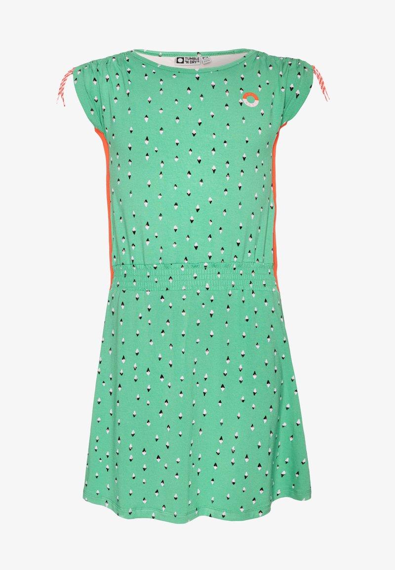 Tumble 'n dry - LUCINA - Žerzejové šaty - green spruce