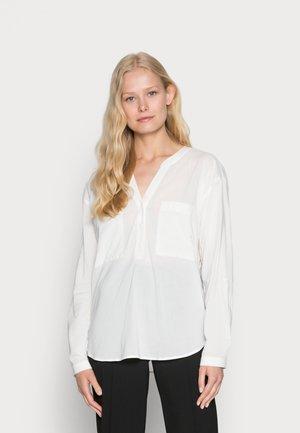 HENLEY BLOUSE - Pusero - off white
