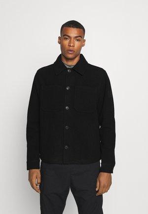 BONDED JACKET - Summer jacket - black