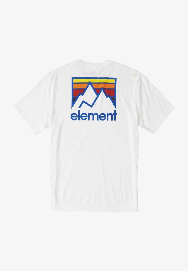 JOINT - Print T-shirt - optic white
