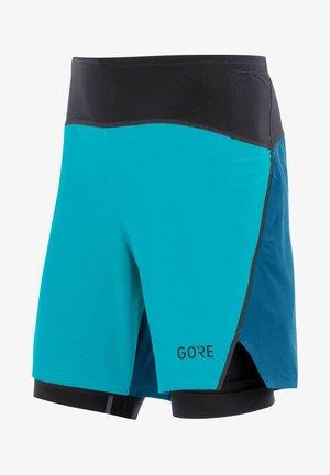 R7 2IN1 - Sports shorts - blau